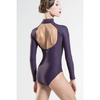 Azel Long Sleeve Turtleneck Leotard with Open Back- Adult - Inspirations Dancewear