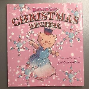 Ballet Kitty Christmas Recital Book