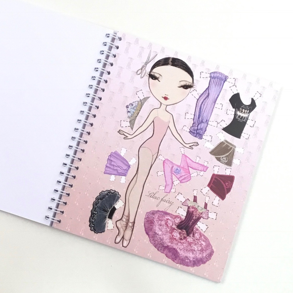 Ballet Etoiles Notebook - Lilac Fairy
