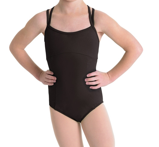Double Strap Leotard - Girls