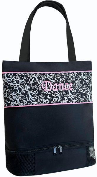 Damask Dance Tote