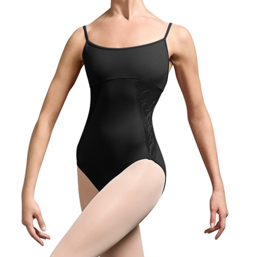 Embroidered Side Panel Leotard - Inspirations Dancewear - 1