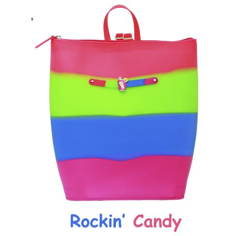 Yummy Scented Backpack - Rockin Candy, Green Apple Scent