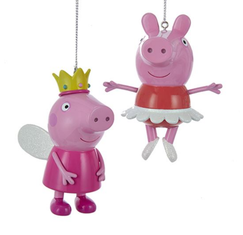 Peppa Pig Ballerina Princess Ornament