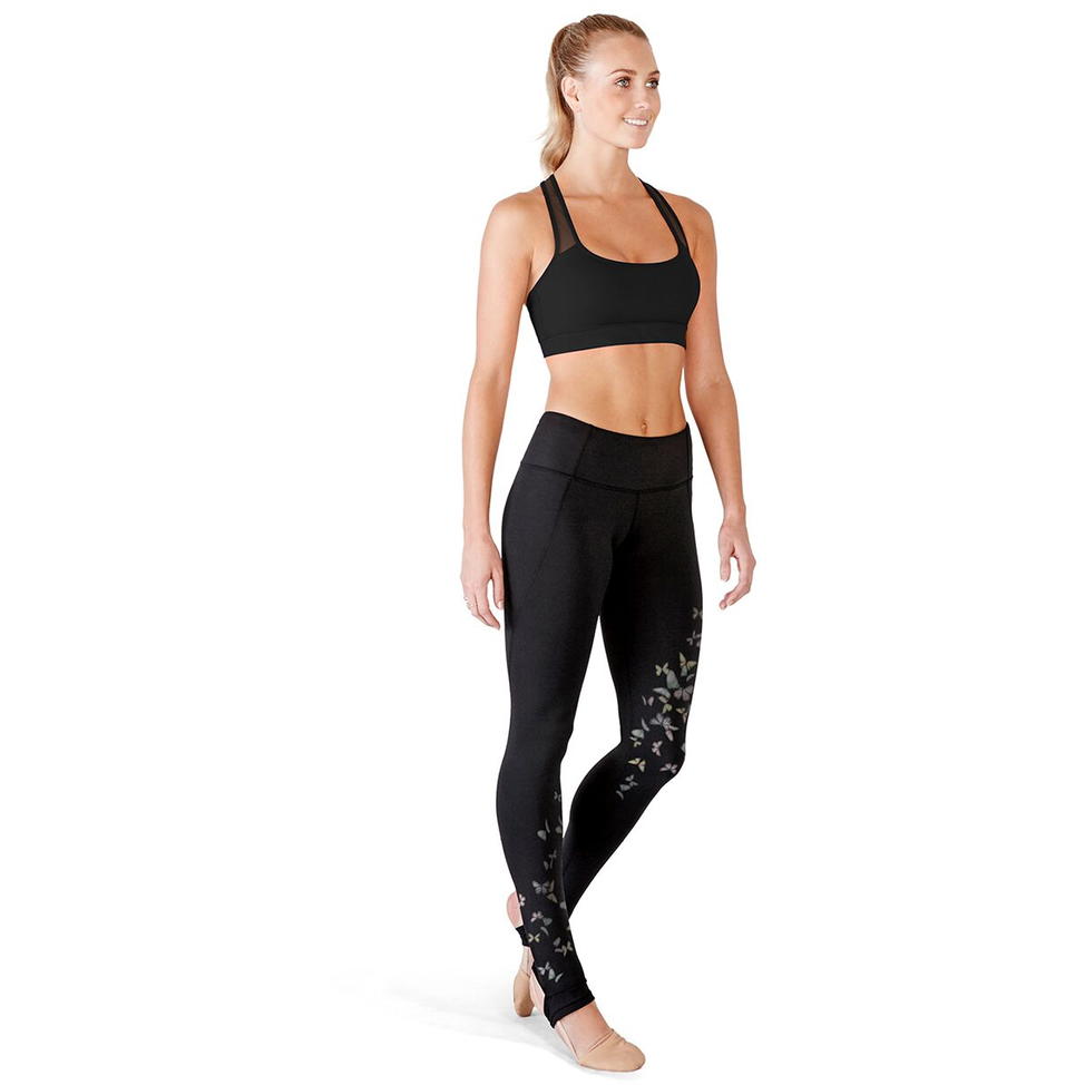 Printed Stirrup Leggings - Adult