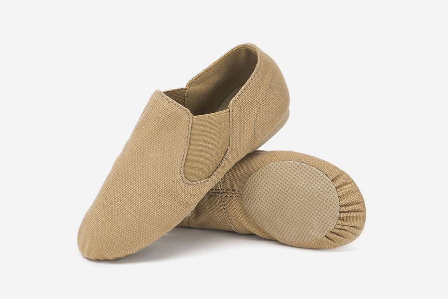 Vegan Canvas Split Sole Jazz Shoe - Child