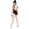 Laser Cut Mock Neck Leotard - Adult