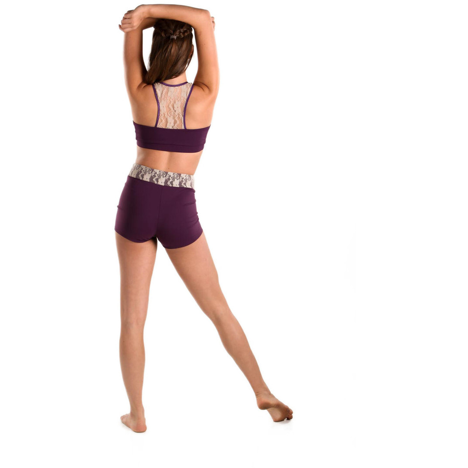 Kalani Lovely Lace Shorts - Inspirations Dancewear - 2