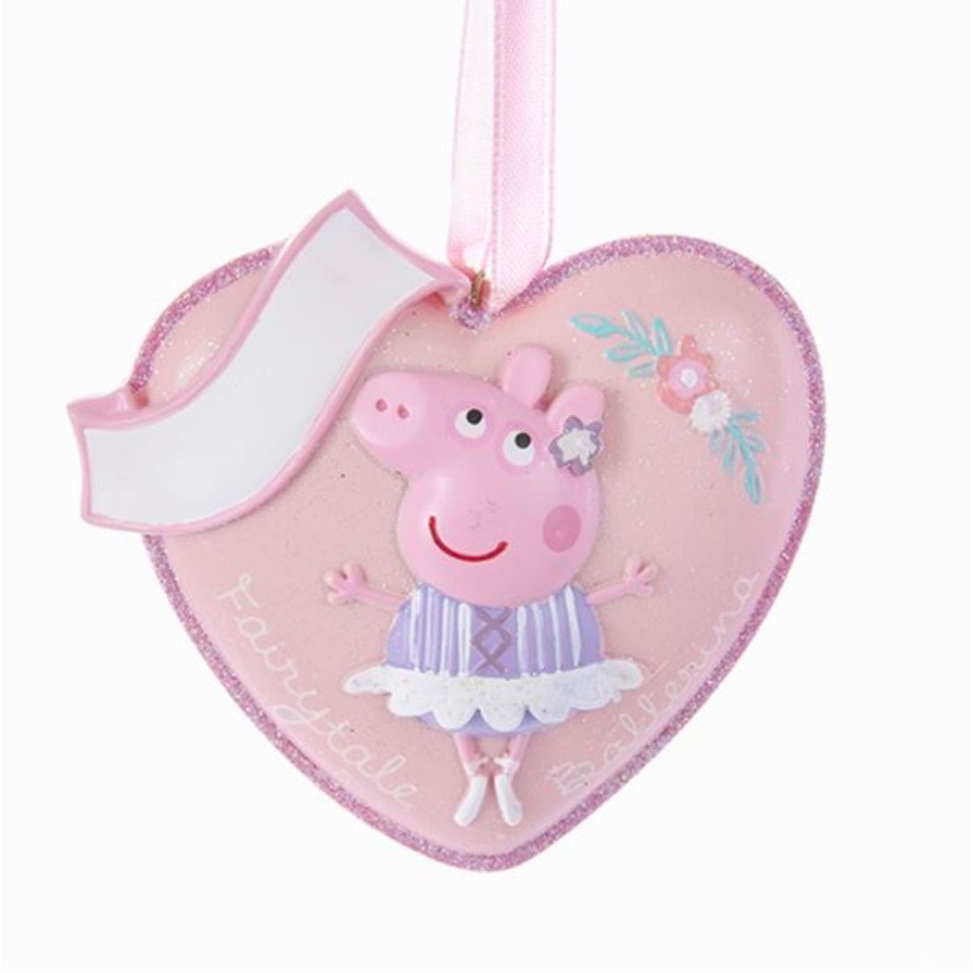 Peppa Pig Heart Ornament