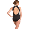 Collette Leotard with Mesh Sweetheart Neckline - Adult