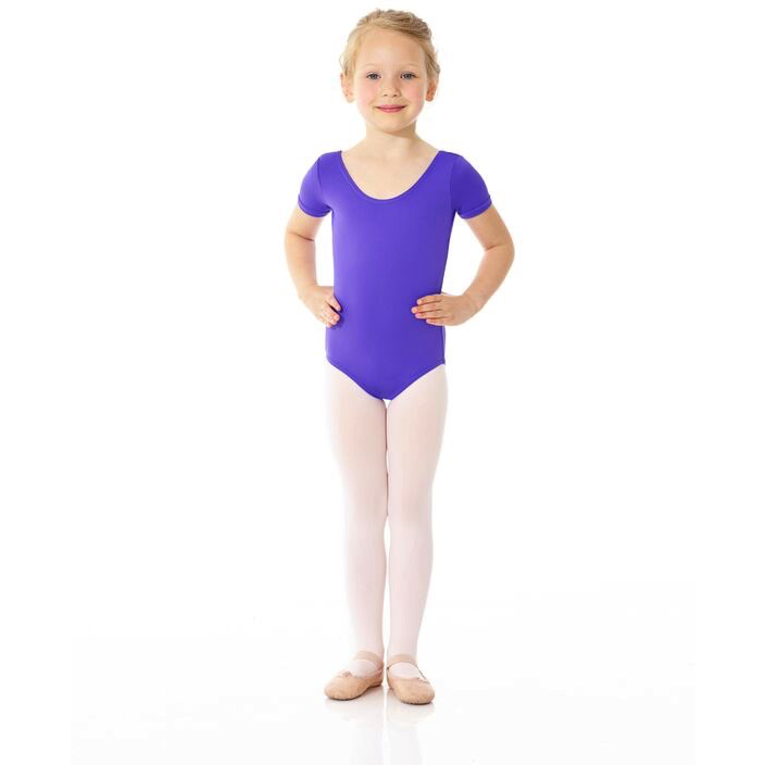 Essential Short Sleeve Leotard - Child - Inspirations Dancewear - 1