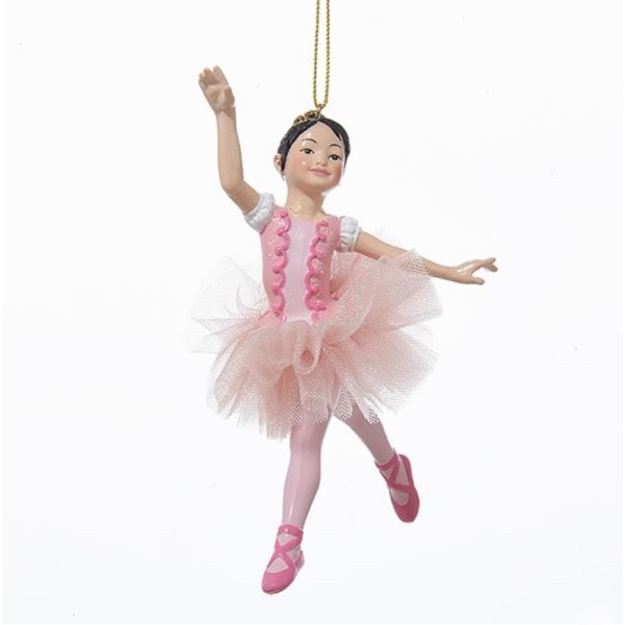 Ballerina Girl Ornament