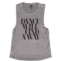 Dance Will Find A Way Tank - Adult - Inspirations Dancewear - 1