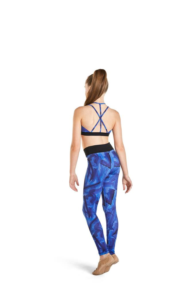 Printed Legging with Contrast Band - Child