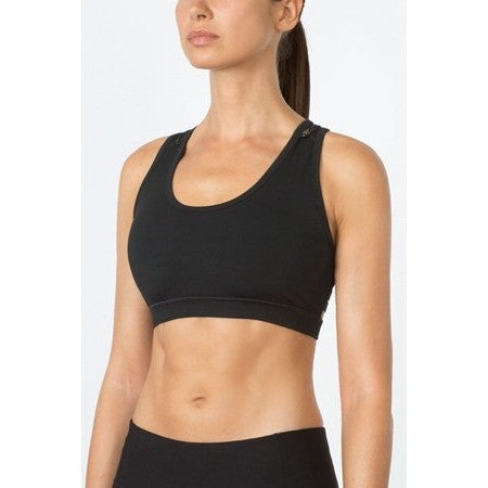 Elliptical Convertible Sports Bra wth Ladder Back - Inspirations Dancewear - 2