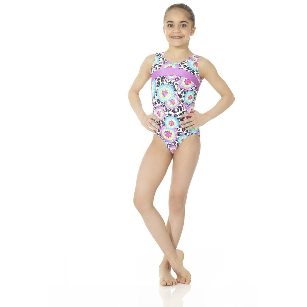 Printed Tank Gym Suit - Inspirations Dancewear - 1