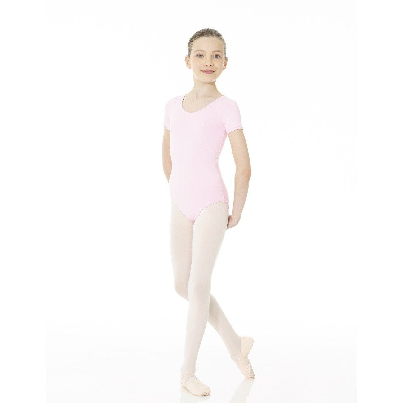 Essential Short Sleeve Leotard - Child
