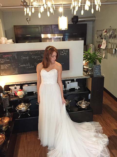 Willowby Rorain wedding dress troy bridal shop