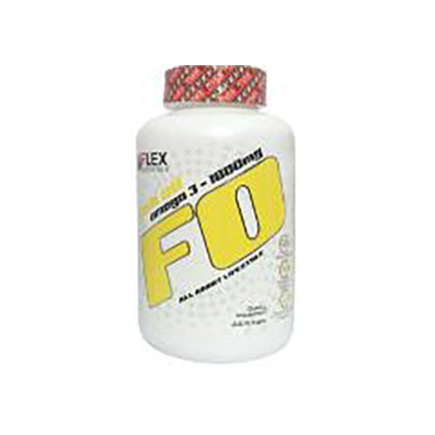 VFlex Nutrition FO Fish Oil Omega3 1000mg 200 Softgels