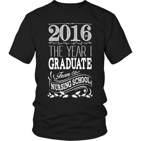 Limited Edition - 2016 The year I graduate nursing school