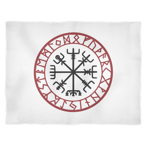 Viking Compass Talisman Blanket