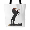 Horse Shape Tote Bag