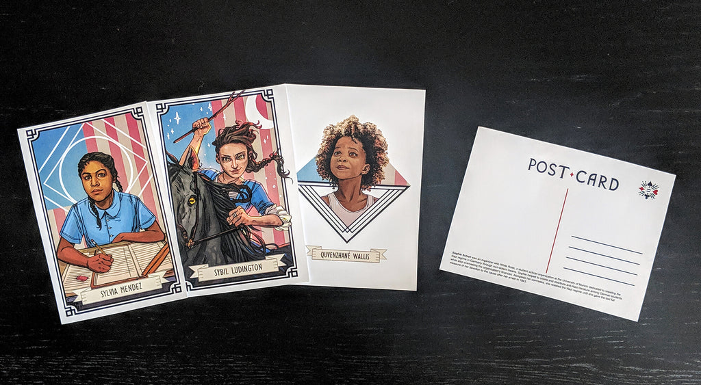 The Woman [Post] Cards: Girl Power