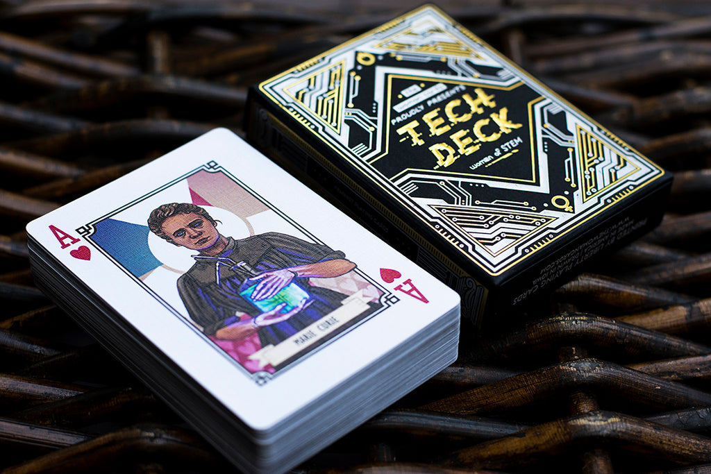 The Woman Cards: Tech Deck