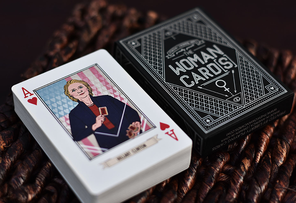 Second Printing of The Woman Cards