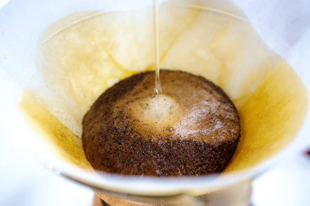 Brewing coffee with the Chemex