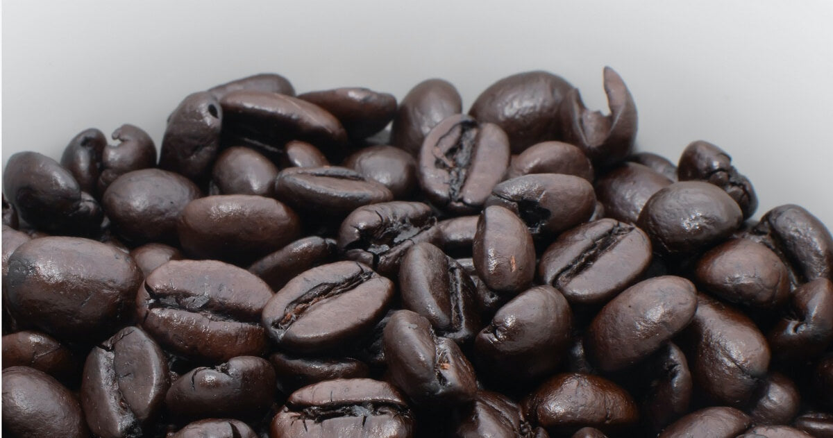 Caffeine in different roasts