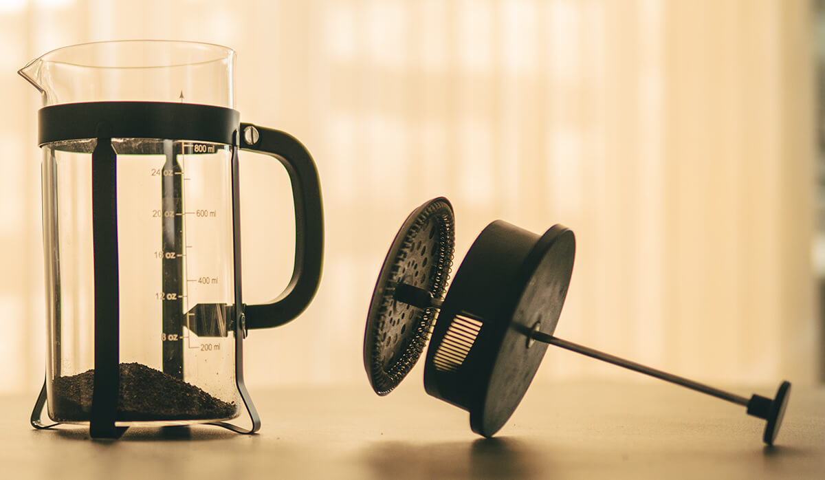 Clean and descale your coffee equipment