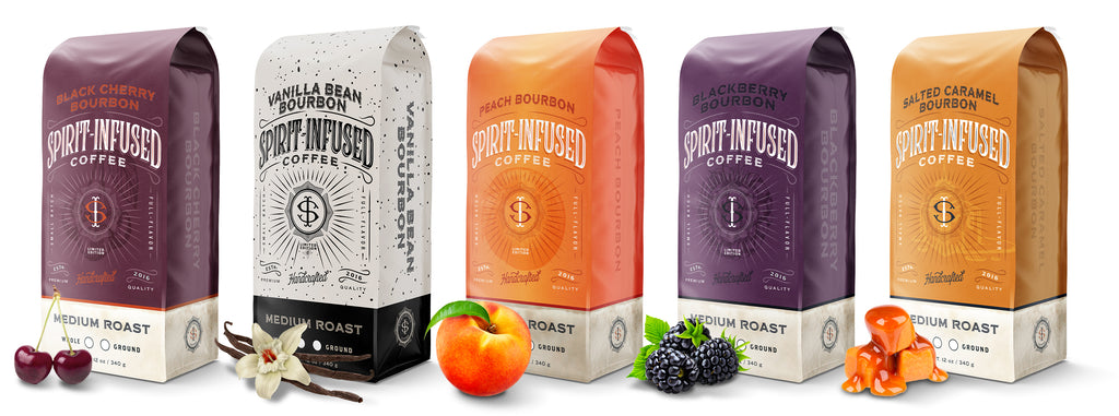 Spirit Infused Coffee, Limited Edition Coffees..
