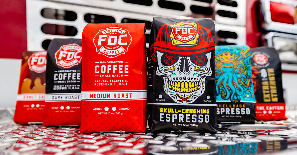 Fire Department Coffee, Handcrafted Coffee