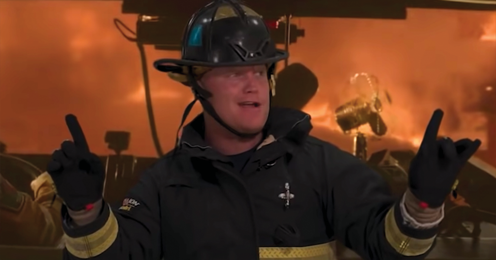 Jason Patton, VP of Fire Dept. Coffee and Star of Fire Department Chronicles videos.