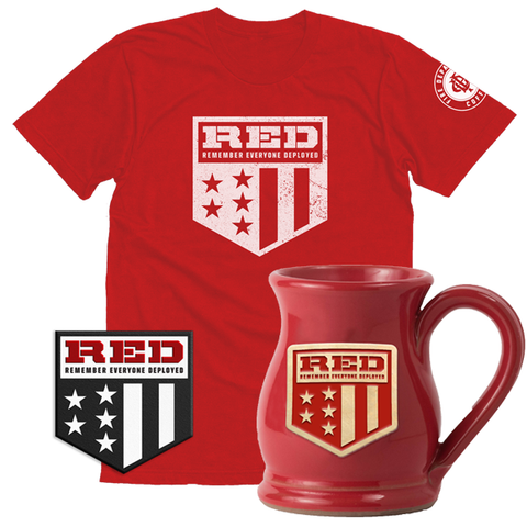 R.E.D. Products (T-shirt, Mug, Patch)