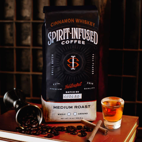 Spirit-infused coffee by Fire Dept Coffee