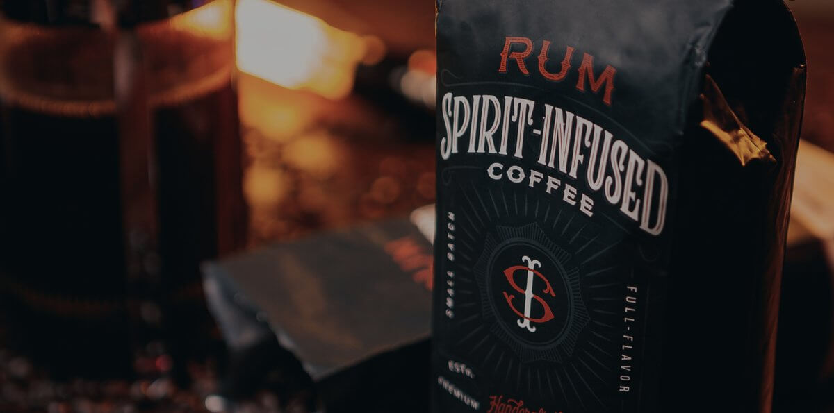 Spirit infused coffee for a pumpkin spice latte with a twist