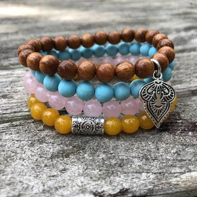 Be Inspired Gem Stack Bracelets Jewelry Faire – Wonderlust & Zeal Clarity