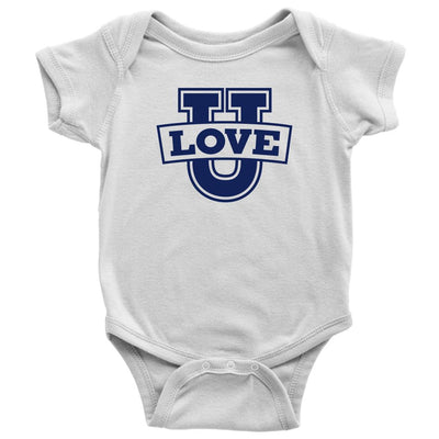 Love U • Babies & Kids Tees T-shirt teelaunch Onsie White 6M
