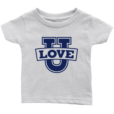 Love U • Babies & Kids Tees T-shirt teelaunch Infant Tee White 6M