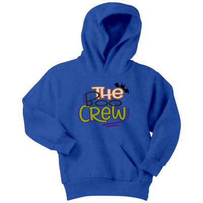 The Boo Crew • Kids & Babies Tops T-shirt teelaunch Hoodie Royal Blue XS