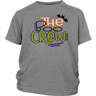 The Boo Crew • Kids & Babies Tops T-shirt teelaunch Youth Tee Sport Grey XS