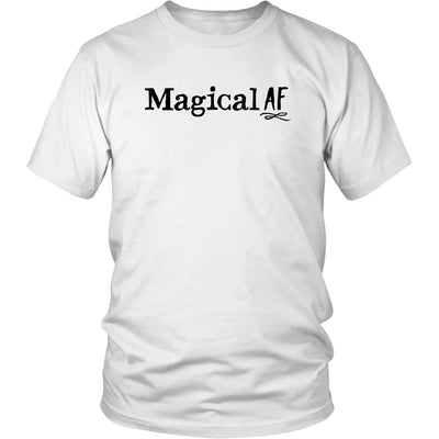 Magical AF • Women's Tees T-shirt teelaunch Unisex Tee White S
