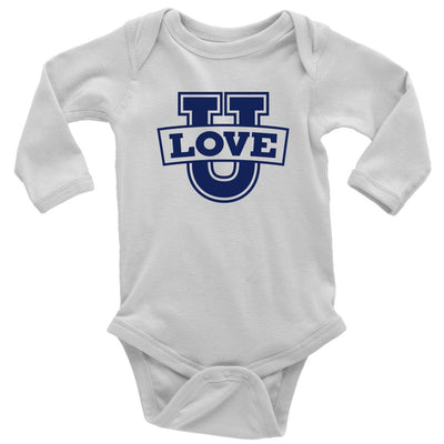Love U • Babies & Kids Tees T-shirt teelaunch Long Sleeve Onsie White NB