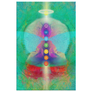 Divine Love & Light Canvas Wall Art