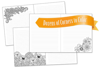 EXCLUSIVE! Color Happy's own Design – Magic and Miracles: Lined Journal and Coloring Book to Help You Uncover Your Infinite Potential
