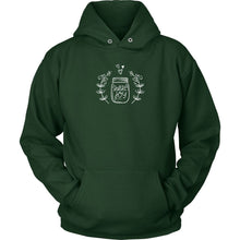 Share Joy This Christmas • Cottagecore Aesthetic Cozy Hoodies & Tees T-shirt teelaunch Unisex Hoodie Dark Green S