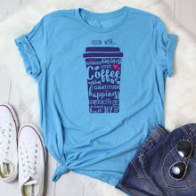 Filled with Coffee & Kindness Women's Tees & Tank Tops