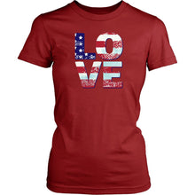Patriotic Love Women's T-shirt